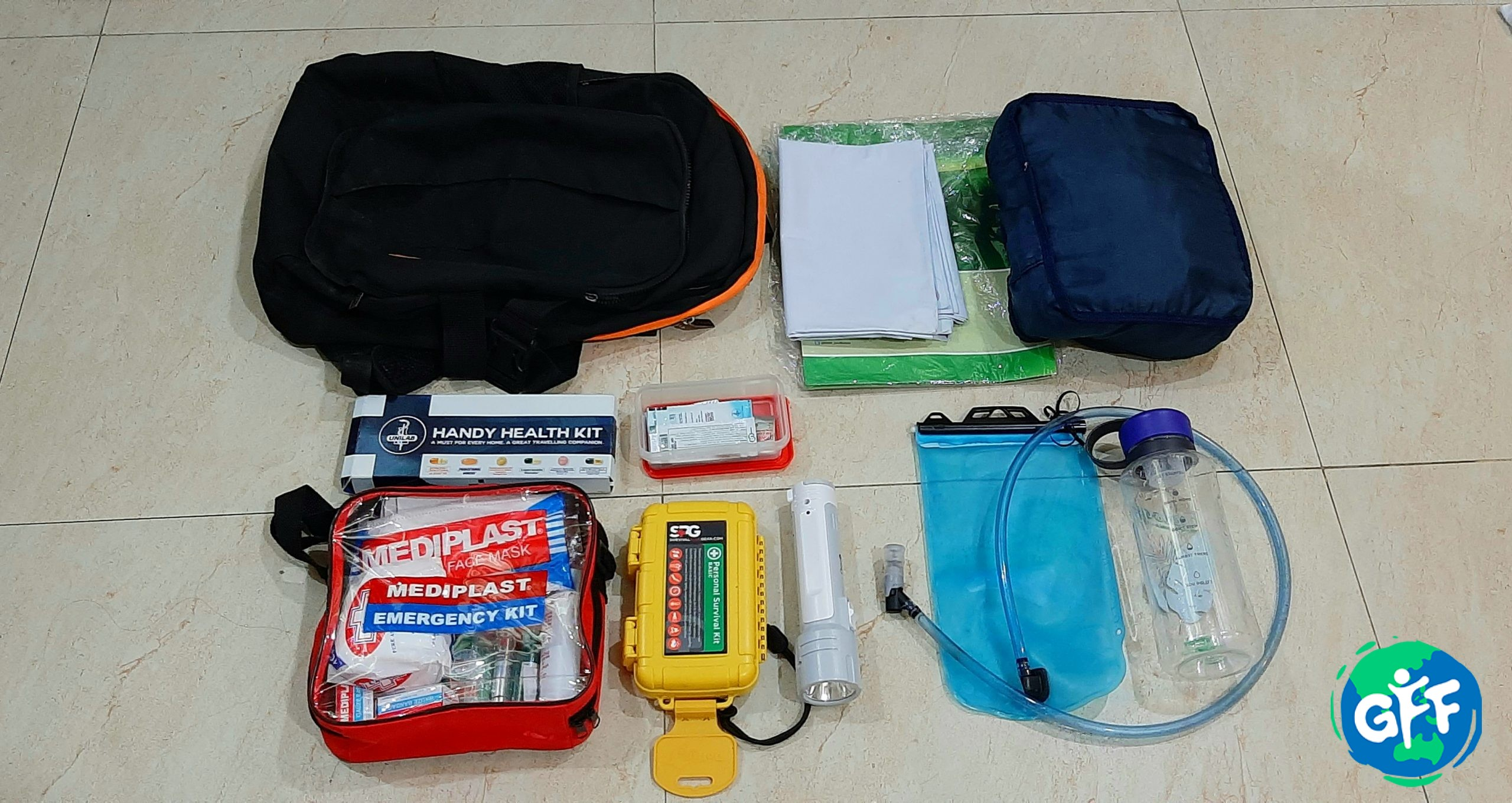 What to Put in your Eco-Friendly Emergency Bag